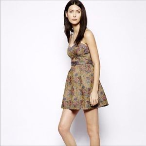 ⬇️Free People | Floral Tapestry Dress